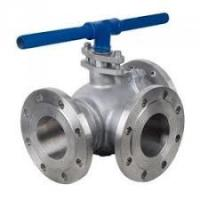 China Electric API598 3 Way Plug Valves With Carbon / Stainless Steel / Alloy Material wholesale