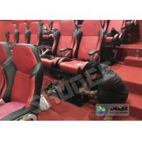 China Amusement Park 5D Cinema Equipment With Flat Screen / 6 Seats wholesale