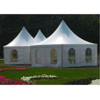 China Garden Wedding Pagoda Tents , Luxury Gazebo Tents 3m x 3m / 4m x 4m / 5m x 5m wholesale