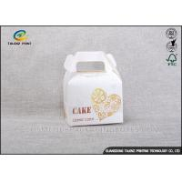China Professional Food Packing Boxes Customized Logo Printed Cup Cakes Packaging wholesale