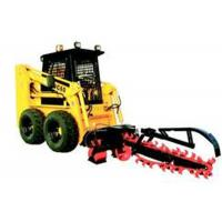 China Front Bucket Track Hydraulic Skid Steer With Ditching Machine Grab Fork wholesale