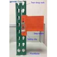 China Industrial Storage Steel Pallet Rack Shelving Step Beam Corrosion Protection wholesale