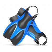 China Comfortable Adult Scuba Diving Fins With Short Blade Anti - Degormation wholesale