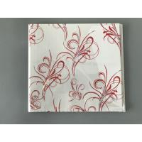 China Flat Transfer Printing 25cm × 7mm Ceiling PVC Panels To Decorate Kitchen wholesale