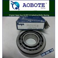 China 2RS Cylindrical Roller Bearings Koyo NU307 C3 , P5 30*80*21MM and High-speed wholesale