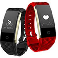 China Bluetooth Heart Rate Smart Bracelet Android IOS Waterproof sleep monitoring wirstband wholesale