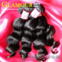 China Human Hair Weave Virgin New Arrival Beautiful Hair 100  Indian Hair Extension Loose Wave on sale