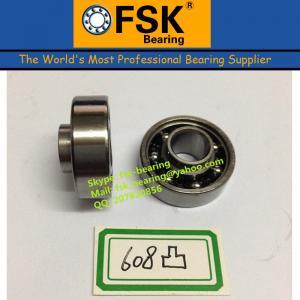 China Precision Bike Ball Bearings 608 Single Convex Bearings 8*22*10mm wholesale