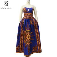 China 100% Cotton Big Size African Print Skirts And Dresses , African Couture Dresses wholesale