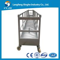 China ZLP630 aluminium alloy/hot galvanized power swing stage platform/stage lift cradle/hanging machinery on sale
