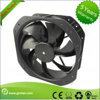 China Brushless 24V DC Axial Fan / CPU Cooling Fan 254mm With External Rotor Motor wholesale