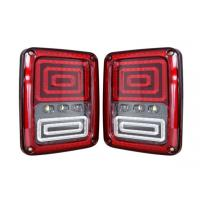 China Waterproof 24w 12v 24v Led Stop Tail And Turn Lights For Jeep Wrangler High Brightness wholesale