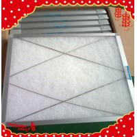 Buy cheap (24x24x2 inch) 595x595x46mm aluminum frame synthetic fiber washable air filter from wholesalers