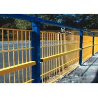 China Security Fencing Weld Mesh Panels PVC Or Powder Spray Coated For Commercial Building wholesale