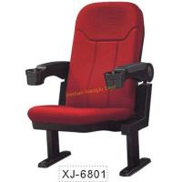 China Fabric Conference / Church / Auditorium Hall Chairs With Movable Armrest wholesale