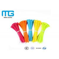 China Self-Locking Electric Wiring Nylon Cable Ties With CE, UL Certification wholesale
