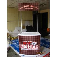 Quality Portable Trade Show Display Counter For Advertising Promotion PP ABS Aluminum Materials for sale