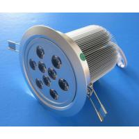 China High Power 15°, 60° 9W Epistar  Recessed LED Downlight Lamp 800lm CE, RoHs passed wholesale