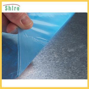 China Dark Blue 50mic*1250mm Aluminum Sheet Protective Film Aluminum Panel Protection Films on sale