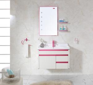 China 2015 New Design Single Basin Wall Hung  Washroom Cabinet and Part wholesale
