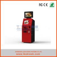 China Ticket Prepaid Cards Vending Self Service Ticket Machine Custom wholesale