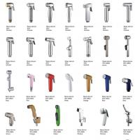 Buy cheap Handheld ABS Chrome Plated With Anti-slip Toilet Bathroom Shattaf Kit Bidet Sprayer For Middle East from wholesalers