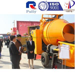 China Pully JBT40-P1 trailer mounted concrete mixer pump, concrete mixer pump brands, electric mini concrete mixer wholesale