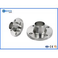 China Nickel Alloy 800 Weld Neck Pipe Flanges With Collar AS EN 1092-1 ISO SGS BV TUV CE on sale