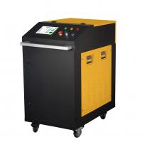 China Hand Held 200W Metal Laser Cleaning Machine For Metal Steel With Water Cooling wholesale
