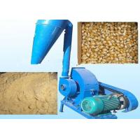 China 11kw 15hp Rice Husk Hammer Mill Grinder Biomass Hammer Mill With Cyclone wholesale