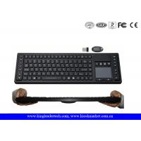 China Waterproof 2.4GHz Wireless Keyboard with Function Keys , Layout Customized wholesale