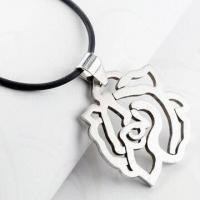 China Pendant Necklace with Outlet Price , Made of Titanium Steel and Fashionable Shape wholesale