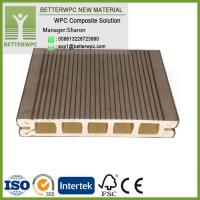 China China Outdoor Waterproof Planks WPC Wood Plastic High Quality Composite Decking wholesale