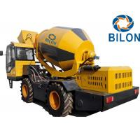 China Self Loading Concrete Mixer Truck 2.6m3 Mobile Concrete Pump Mixer Truck on sale