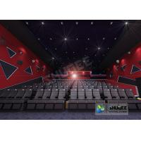 China 55 Inch Display 60 People 4D Digital Cinema Equipment With Blue Color 4 Motion Seat wholesale