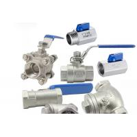China Threaded Female One Piece Stainless Steel Valves For Hydraulic Engineering wholesale