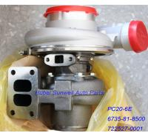 Komatsu PC20-6E turbo 6735-81-8500 6BTA5.9 engine turbocharger TO4B 722527-0001