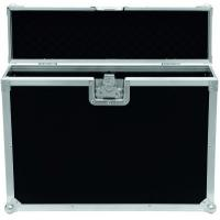 China Black 9mm Plywood / Rack Flight Case With Wheels / Storage Cases for Light wholesale