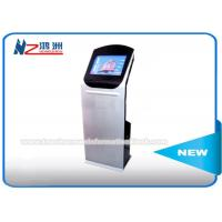 China Bus Ticket Kiosk Vending Machine With Housing Thermal Printer Card Reader on sale