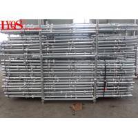 China HDG Steel Vertical Cuplock Shuttering System High Strength For Building Support wholesale