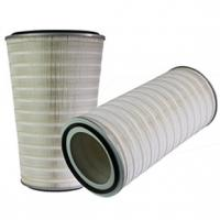 China Conical / Cylindrical Industrial Air Filter Cartridge Prolonging Life Span on sale
