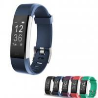 Buy cheap ID115 Plus Wristband Sport Heart Rate Smartband Fitness Tracker Smart Watch from wholesalers