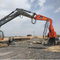 Buy cheap Excavator hydraulic vibration Sheet Pile Driver and vibro pile hammer for 20t from wholesalers