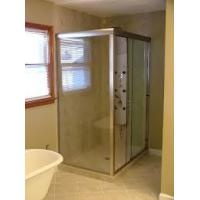 Wholesale Sector shower enclosure with high tray from china suppliers