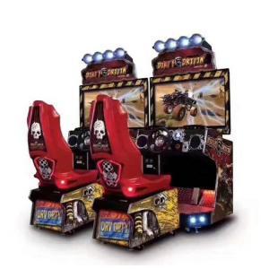China Customized 42 Lcd Car Racing Simulator For Game Center EN71 EN1176 ASTM wholesale