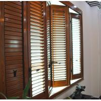 Quality Residential Bi Fold Aluminium Windows  / Collapsible Windows With Louver for sale