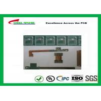 China Rigid-Flex Quick Turn PCB Prototypes Base on IPC-2223 Guidelines Yellow and Green wholesale