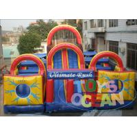 China EN14960 Huge Inflatable Obstacle Course wholesale