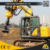 Excavator auger drilling quality excavator auger for Hydraulic auger motor for sale