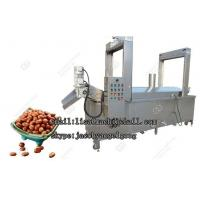 China Automatic Peanut Frying Machine|Continuous Snack Fryer Machine For Sale on sale